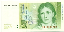 5 MARKS 1991 - 5 Deutsche Mark
