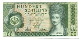 100 SCHILLINGS 1969 - Austria