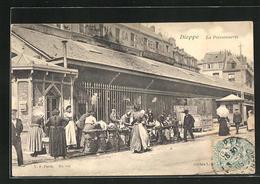 CPA Dieppe, La Poissonnerie - Dieppe
