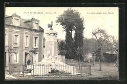 CPA Montivilliers, Le Monument Aux Morts - Montivilliers