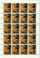 Luxembourg Feuille De 20 Timbres à 0,45 Euro Noces D'Or Du Grand-Duc Jean Et La Grande-Duchesse Joséphine-Charlotte 2003 - Full Sheets