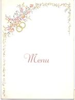 Menu - -feestmaal Huwelijk Jacqueline Depaemelaere X Octaaf Vandecasteele - Deerlijk 1959 - Menus