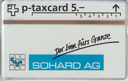 SUISSE - PHONE CARD - °TAXCARD-PRIVÉE *** SOHARD  AG *** - Switzerland