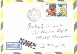 LETTERA X ITALY ABACAXI MORANGO - Frutta