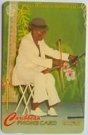97CATD  Playing The Saw EC$20 Slash C/n - Antigua En Barbuda