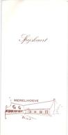 Menu - 25 Jaar Vriendenkring Post Ingelmunster - 1967 - 1992 - Merelhoeve - Menus