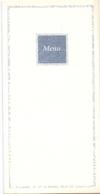 Menu - Communie Anneke & Tineke - Stuivekenskerke 1997 - Menus