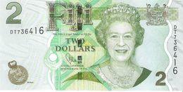 Fiji - Pick 109  - 2 Dollars 2011 - Unc - Fidji