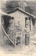 ¤¤  -  LAOS   -  Case Et Type Laotiens   -  Feux D'Artifices ??      -  ¤¤ - Laos