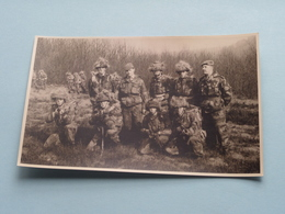 Soldaat / Soldat / Soldier / Militairen Op Manoeuvre ( Géén ID ) Anno 196? ( Voir Photo ) ! - Personnages