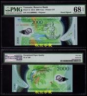 Vanuatu 2000 Vatu (2014) Polymer Handsigned(100 Folders Printed) PMG68 - Vanuatu