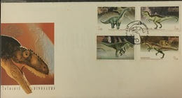FDC Thailand Thailande Cover 1997 : Prehistoric Animals / Dinosaur - Thailand