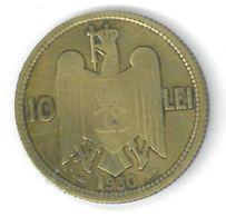 ROUMANIE - ROMANIA - 10 LEI 1930 - Carol II - Roumanie