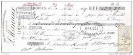 87    Limoges , MARIAUX , Comptoir   D,Aubusson ( 1879 ) - 1800 – 1899