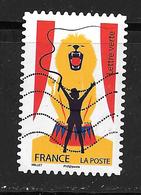 FRANCE 1486 Adhésif Dompteur Et Lion - Adhesive Stamps