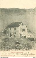 WW 04 PARPAILLON. Chasseurs Alpins Au Refuge Et Tunnel 1903 - Autres Communes