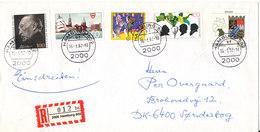Germany Registered Cover Sent To Denmark Hamburg 16-3-1992 - [7] Federal Republic