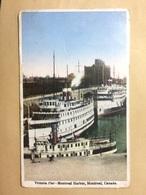 CANADA - Montreal - Victoria Pier - 1937 - International Fine Art - Montreal
