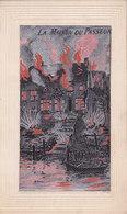 La Maison Du Passeur La France Tiendra Jusqu Au Bout, La Russie Marchera Jusqu A La Mort Carte Brodée Soie 1914-1918 - Guerre 1914-18
