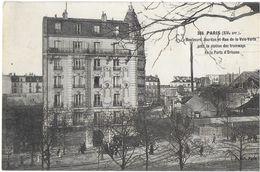 PARIS 75 SEINE  368 XIV EME  ARR. BOULEVARD JOURDAN ET RUE DE LE VOIE VERTE PRES STATION TRAMWAY EDIT. L.J. JCT&DG - Sets And Collections