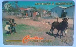 17CATA Kids At Play, Barbuda EC$10 - Antigua And Barbuda
