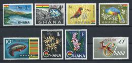 Ghana N°266/73** (MNH) 1967 - Faune, Flore Et Diamants - Ghana (1957-...)