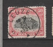 COB 144 Oblitération Centrale LEUZE - 1915-1920 Albert I