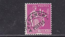 FRANCE PREOBLITERES TYPE PAIX 1f. Rose N° 76 * - 1893-1947