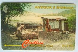 97CATC  Charcoal Burning  EC$10 - Antigua And Barbuda