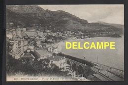 DD / CHEMINS DE FER / TRAIN / PASSAGE D' UN TRAIN À VAPEUR À MONTE-CARLO ( MONACO ) - Trains