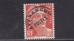 FRANCE PREOBLITERES TYPE MARIANNE DE GANDON 12f. Rouge Orange N° 103A ** - 1893-1947