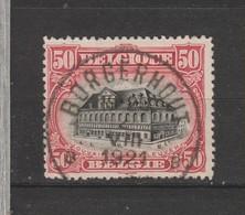 COB 144 Oblitération Centrale BORGERHOUT - 1915-1920 Albert I.