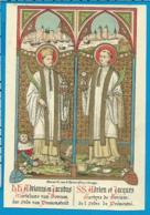 Holycard    St. Adrianus & Jacobus - Devotion Images