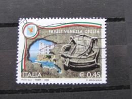 *ITALIA* USATI 2005 - REGIONI D'ITALIA FRIULI VENEZIA GIULIA - SASSONE 2807 - LUSSO/FIOR DI STAMPA - 6. 1946-.. Repubblica