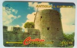 17CATB Martello Tower Barbuda  EC$40 - Antigua And Barbuda