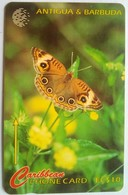 264CATB  Donkey Eye Butterfly  EC$10 - Antigua And Barbuda