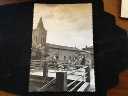 Francheville Le Haut La Claire Maison L église Et La Terrasse Cpm - Frankreich