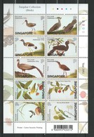 Singapore  2002 Farquhar Collection - Birds.Perforation M/S.  MNH - Singapour (1959-...)