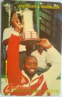 145CATA Dave Joseph EC$10 No Slash - Antigua En Barbuda