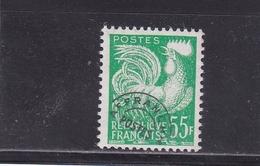FRANCE PREOBLITERES TYPE COQ GAULOIS 55 F. Vert Jaune N° 118 ** - 1893-1947