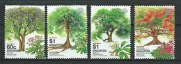 Singapore 2002 Trees. Crobs. Plants .flora. MNH - Singapore (1959-...)