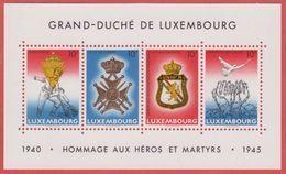 1985 ** (sans Charn., MNH, Postfrisch)  Yv  BF 14Mi  Block 14 - Luxembourg