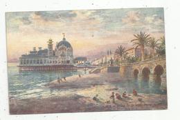 Cp , Illustrateur Raphael TUCK , 06 , NICE , Le Palais De La Jetée , Vierge - Tuck, Raphael