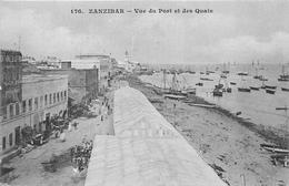 ¤¤   -    TANZANIE    -  ZANZIBAR    -   Vue Générale Du Port Et Des Quais      -  ¤¤ - Tanzania