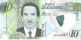 Botswana - Pick New - 10 Pula 2018 - Unc - Botswana