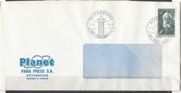 Luxembourg:  Lettre Avec Oblitération De Bettembourg Parc Merveilleux - Storia Postale