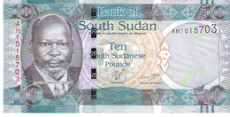 South Sudan - Pick 7 - 10 Pounds 2011 - Unc - South Sudan