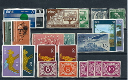 Ireland (Eire) , Fine Mint Lot (as Per Scans) MNH - Neufs