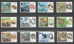 E498 2008 ASCENSION ISLAND FAUNA MARINE LIFE BIRDS INSECTS REPTILES #1021-32 !!! MICHEL 50 EURO !!! 1SET MNH - Autres