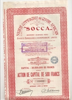 Congo - Socca - Afrique